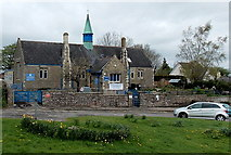SO5504 : St Briavels Primary School by Jaggery