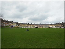 ST7465 : The Royal Crescent Bath by Ian S
