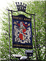 TQ4935 : Dorset Arms sign by Oast House Archive