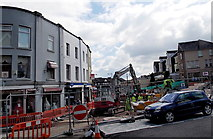 ST1599 : Hanbury Square redevelopment, Bargoed by Jaggery
