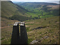 NY4906 : Survey pillar above Brock Crag, Stockdale (2) by Karl and Ali