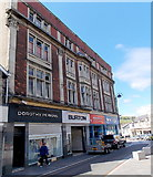 ST1599 : Four Hanbury Road businesses, Bargoed by Jaggery
