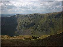 NY4807 : Sunlit slopes above Buckbarrow Crag by Karl and Ali