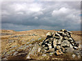NY4907 : Grey Crag 'summit' cairn by Karl and Ali
