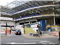 SP0686 : New Street Station, New Hill Street Entrance by Roy Hughes