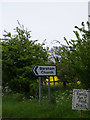 TM3989 : Barsham Church sign by Adrian Cable