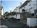 SX9271 : Houses and wires, Higher Ringmore Road, Ringmore by Robin Stott