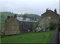 SE0424 : Houses, Luddenden Foot by JThomas