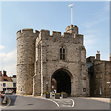 TR1458 : West Gate, Canterbury by David Dixon