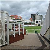 SK5838 : Trent Bridge Cricket Ground: the new scoreboard by John Sutton