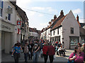 TA0339 : Saturday crowds in Beverley by Stephen Craven