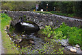NY2323 : Bridge over Coledale Beck by Ian Taylor
