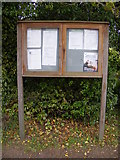 TM4087 : Ringsfield Village Notice Board by Adrian Cable