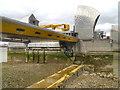 TQ4179 : Thames Flood Barrier, Gate 9 by David Dixon