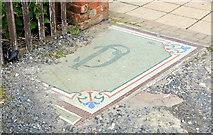 J5081 : Mosaic, Bangor by Albert Bridge