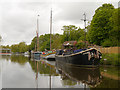 TQ7558 : River Medway, Thames Sailing Barge by David Dixon