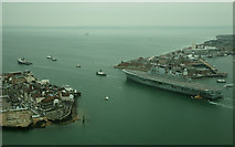 SZ6299 : Farewell to HMS Ark Royal (6) by Peter Trimming