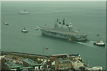 SZ6299 : Farewell to HMS Ark Royal (10) by Peter Trimming