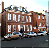SO5139 : Grade II* listed St Owen's Chambers, Hereford by Jaggery