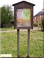 TM3884 : Becks Green Village Notice Board by Geographer