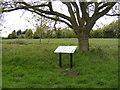 TM3884 : Information Board off Becks Green Lane by Geographer