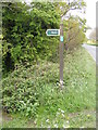 TM3587 : Scotchman's Lane Byway Sign by Adrian Cable