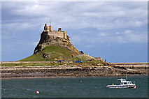 NU1341 : Lindisfarne Castle (2) by Mike Searle