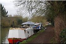 TL3706 : Narrowboats, Lea Navigation by N Chadwick