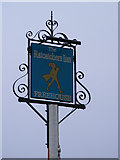 TG1422 : The Ratcatchers Inn Public House sign by Adrian Cable