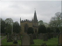 SK2572 : St Anne's Church, Baslow by John Slater