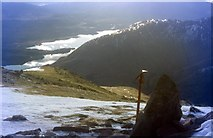 NN1332 : Southwest ridge of Beinn Eunaich by Alan Reid