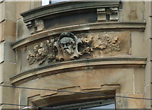 NS5765 : Stone carving at Two Fat Ladies by Thomas Nugent