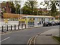 SJ8491 : Didsbury Village Metrolink Station by David Dixon