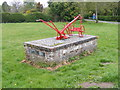 TG1130 : Corpusty & Saxthorpe Village Sign by Adrian Cable