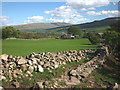 SD6988 : Repairing a wall, Lunds Lane, Dentdale by Karl and Ali