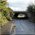 ST6378 : Filton Road passes under the M32 motorway, Hambrook by Jaggery