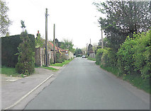 TQ8115 : Cottage Lane approaches junction with A28 by Stuart Logan