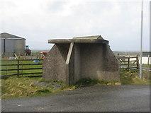NB5263 : Lewisian bus shelter by M J Richardson