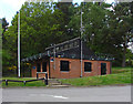 SU8952 : Range reception building by Alan Hunt