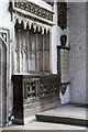 TQ3581 : St Dunstan & All Saints, Stepney - Easter sepulchre by John Salmon