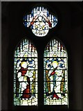 NY9449 : St. James's Church, Hunstanworth - stained glass window (2) by Mike Quinn