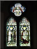 NY9449 : St. James's Church, Hunstanworth - stained glass window (3) by Mike Quinn