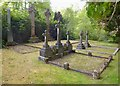 NH4141 : Chisholm cemetery, by Erchless by Craig Wallace