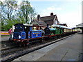 TQ4023 : Train at Sheffield Park Station by PAUL FARMER