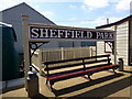 TQ4023 : Station Sign at Sheffield Park Station by PAUL FARMER