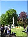 NY9364 : Hexham War Memorial by James Denham