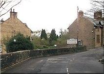 NY6366 : Entering Northumberland at Gilsland by John Firth