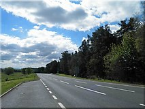 NT6226 : Speed camera ahead on the A68 near the entrance to Lilliardsedge Park by Steve  Fareham