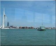 SZ6299 : Gosport Ferry by Paul Gillett