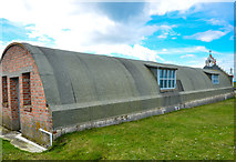 HY4800 : Two Nissen Huts by Andy Farrington